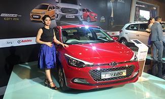 Hyundai Elite i20 @Auto Expo 2016