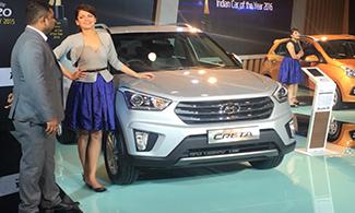 Hyundai Creta @Auto Expo 2016