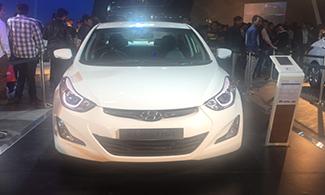 Hyundai Elantra @Auto Expo 2016