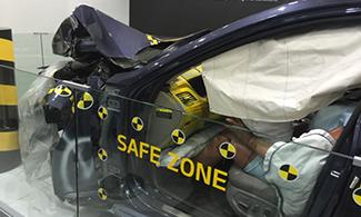 Genesis Crash Test Image Auto Expo 2016