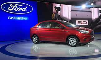 Ford Figo ASPIRE @Auto Expo 2016