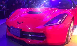 Auto Expo 2016 Corvette Stingray Front