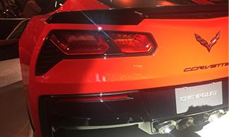 Auto Expo 2016 Corvette Stingray Rear