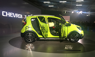 Chevrolet Beat Activ Concept at Auto Expo 2016