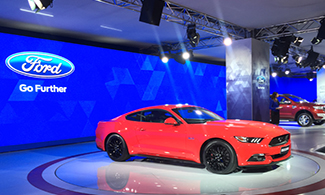 Ford Mustang at Auto Expo 2016