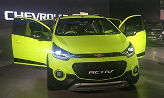 Auto Expo 2016 Chevrolet Beat Activ Front View