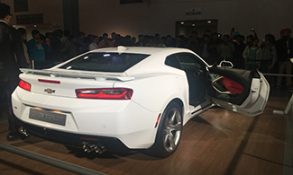 Chevrolet Camaro at Auto Expo 2016