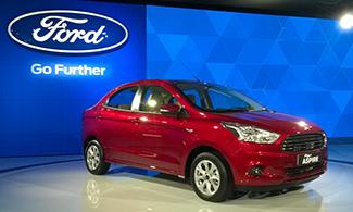 Ford Figo ASPIRE Auto Expo 2016 Images