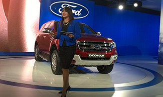 Ford Endeavour at Auto Expo 2016