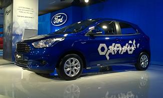 Auto Expo 2016 Ford Figo Side View