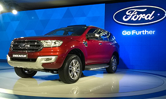 New Endeavour at Auto Expo 2016