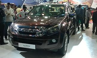 Isuzu D-max V-cross at Auto Expo 2016