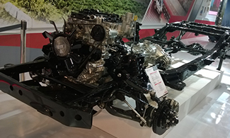 D-max V-cross Chassis at Auto Expo 2016