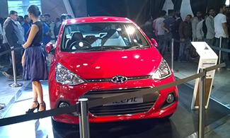 Hyundai Xcent at Auto Expo 2016