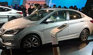 Hyundai Verna at Auto Expo 2016