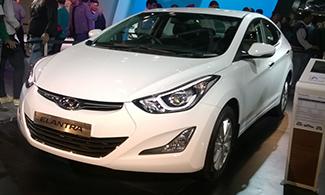 Hyundai Elantra Images Auto Expo 2016