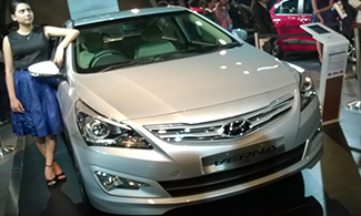 Auto Expo 2016 Hyundai Verna Images