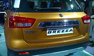 Maruti Vitara Brezza at Auto Expo 2016