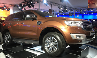 Auto Expo 2016 Ford Endeavour Images