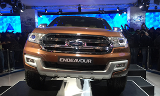 Ford Endeavour Auto Expo 2016 Images