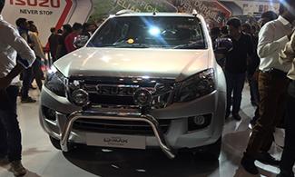 Isuzu D-max V-cross Auto Expo 2016 Images
