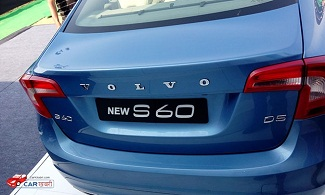 Volvo New S 60 Back View