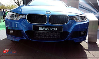 BMW 320d at Jaipur Auto Expo