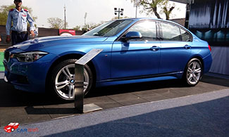 BMW 320d Side View