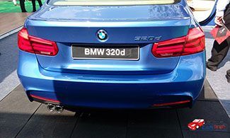 BMW 320d Back View