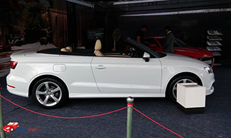 Audi A3 Cabriolet Side View