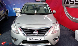 Nissan New Sunny Front View