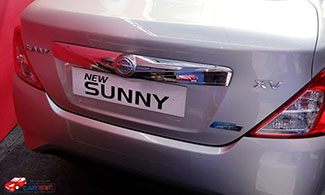 Nissan New Sunny Back View