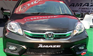 New Amaze Front View