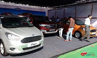 Ford Pavilion at 2016 Jaipur Auto Expo