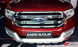 Ford Endeavour at 2016 Jaipur Auto Expo