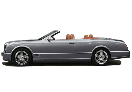 Bentley Azure Front Angle Side View Exterior Picture