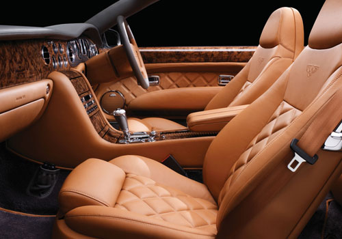 Bentley Azure Front Seats Interior Picture