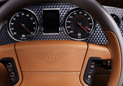Bentley Azure Tachometer Interior Picture