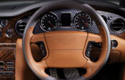 Bentley Azure Steering Wheel Picture