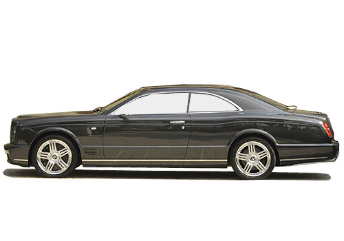 Bentley Brooklands Front Angle Side View Exterior Picture