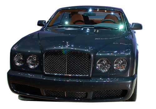 Bentley Brooklands Front High Angle View Exterior Picture