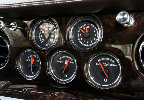 Bentley Brooklands Tachometer Interior Picture