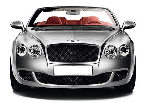 Bentley Continental Front View Exterior Picture