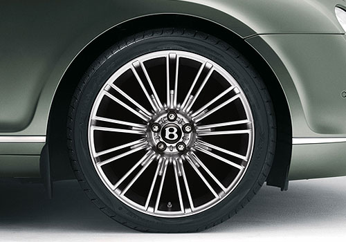 Bentley Continental Wheel and Tyre Exterior Picture