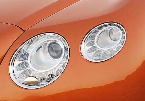 Bentley Continental Headlight Exterior Picture