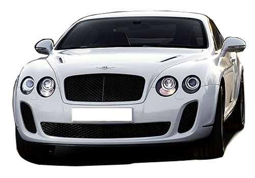 Bentley Continental Front High Angle View Exterior Picture