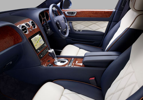 Bentley Continental Front Seats Picture
