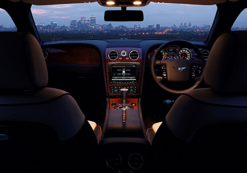 Bentley Continental Dashboard Picture