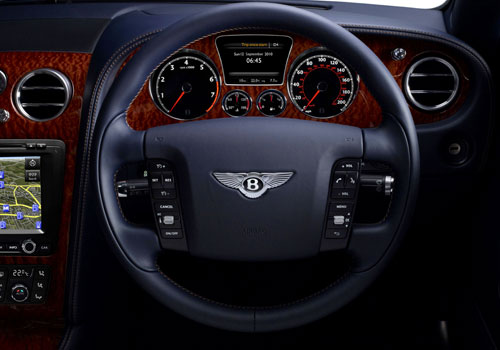 Bentley Continental Steering Wheel Interior Picture