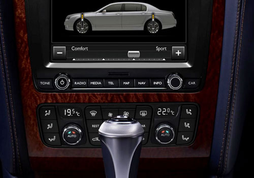 Bentley Continental Stereo Interior Picture